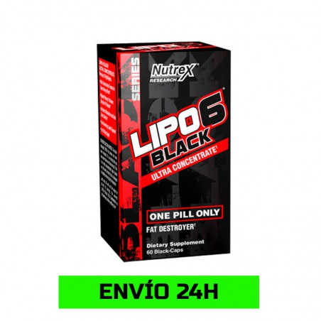 Lipo 6 Black Ultraconcentrate 60 Cápsulas