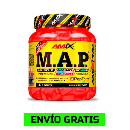 M.A.P Muscle Amino Power 375 Tabletas
