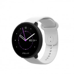 Reloj Polar Unite color blanco